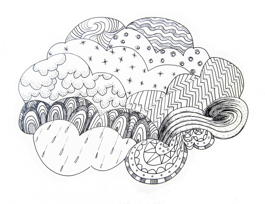 Patterned Cloud
